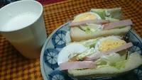 焼豚サンド