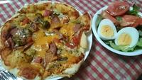 フェリーチェのピザで