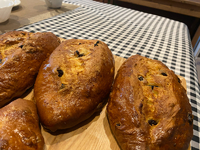 チョコのパン シュガーレーズンクッペ