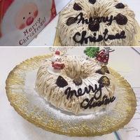 今年のピアチェーレのクリスマスケーキ講習