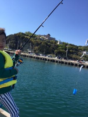 ちびちゃんたちとの日曜日、、、釣り