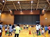 串本町にて親子体操・・・1