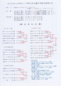 ほっかほっか亭カップ第41回近畿少年軟式野球大会・全結果