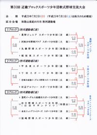第30回 近畿ブロックスポーツ少年団軟式野球交流大会・全結果