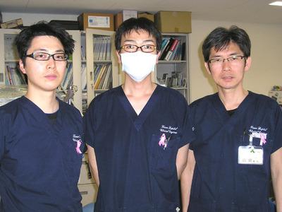 ピンクリボン着用者@社会保険 紀南病院-理学療法士