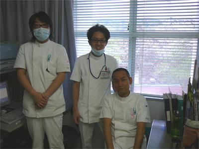 ピンクリボン着用者@はまゆう病院 放射線課