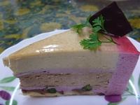 苺とヘーゼルナッツのケーキ