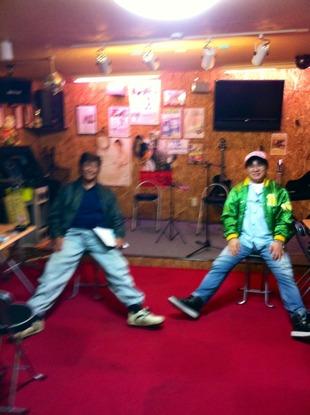 昨夜のスタジオ
