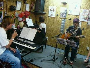 バンド練習&ギター教室