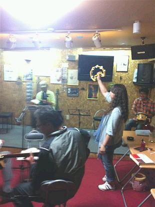 昨夜の音楽教室