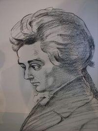 となりに、天才モーツァルト?