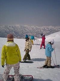 続 春スキー