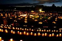 竹燈夜in四季の郷 終了!