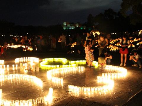 竹燈夜フォトコンテスト2017 応募作品展示