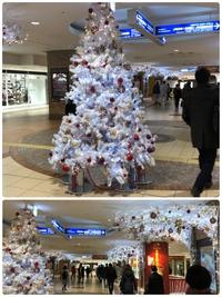 【八重洲地下街もクリスマス模様…