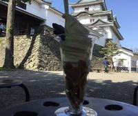 和歌山城 お天守茶屋さんで♪