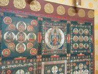 両界曼荼羅図。