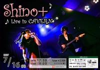 Shino+ライブ