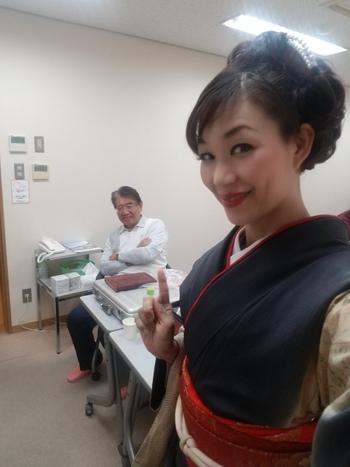 和歌山芸能県人会施設訪問