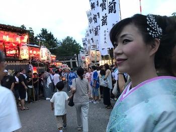 田辺祭り「宵宮」奉納歌唱