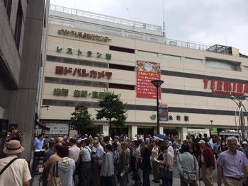 東京キャンペーン二日目