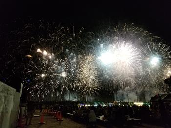 2018好きやっしょ~夢花火~紀の川市民まつりにて