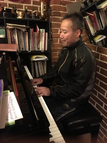 ピアニストの木谷さんと