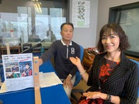 睦郎さんのラジオカフェに。