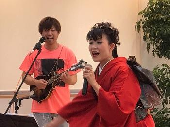 ヤブシン+宮本静!!新宮ランチコンサートは大盛況