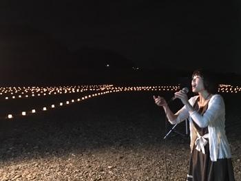 第15回平和と慰霊の祈り 万燈会 MANTOUE