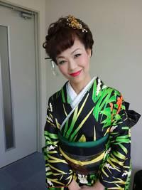 彩花寿舞踊の会にて