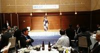 麻生幸次郎氏の毎日新聞和歌山支局長就任を祝う会