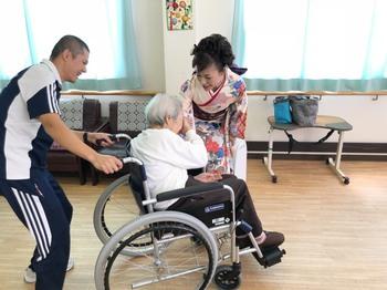介護老人福祉で施設やよい苑さんにて