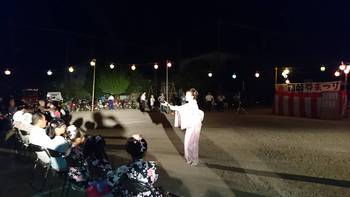 夜は和歌山四箇郷夏祭り〰️
