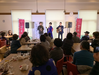 紀の恋歌ツアー@カフェ花舞