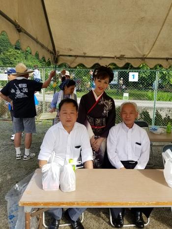 細野渓流ほたる祭り2018