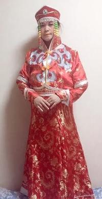 モンゴルの衣装
