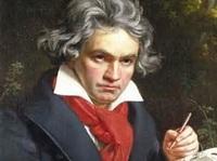 音楽室のベートーヴェン