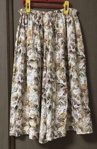 母のキュロットスカート