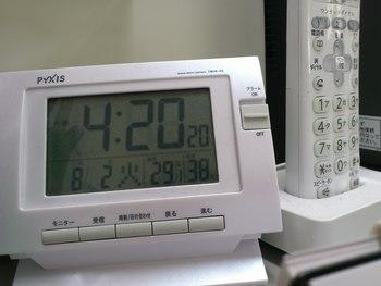 温度管理もたいへん