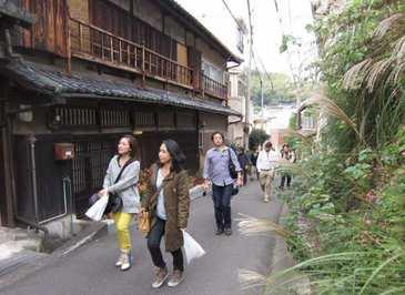 熊野街道 黒江坂を日方方面へ