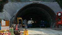 「城山トンネル工事進捗状況」