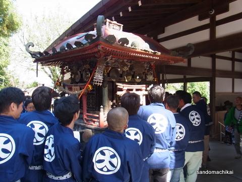 今日は、伊太祁曽神社秋祭り