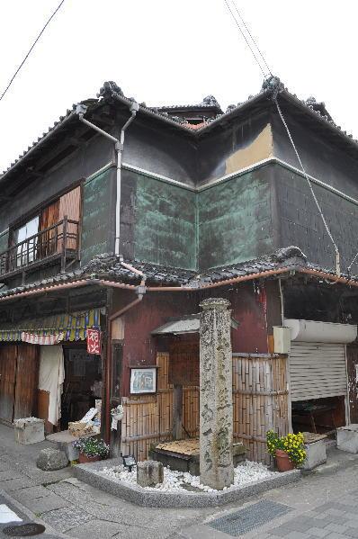 熊野古道の道しるべ・立石