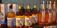紀州梅酒と純米酒黒牛