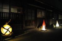 ゆあさ行灯アート展・開催中ですよ♪【3】重要的伝統建造物群