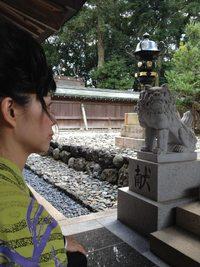 「黒江からころ為の女」のヒット祈願@伊太祁曽神社