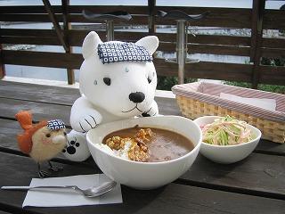 テラスにて!!可愛い(^ε^)-☆!!