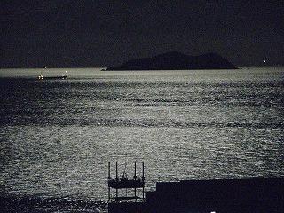 月明かりの雑賀崎(*^_^*)