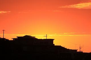 スハネフの夕日